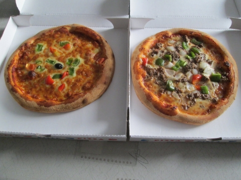 Pizza Kim & Pizza bolognese