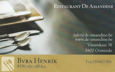 Restaurant Amandine Oostende