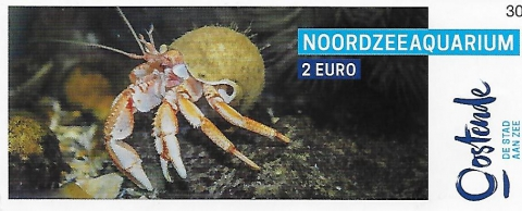 Inkomkaartje aquarium Oostende