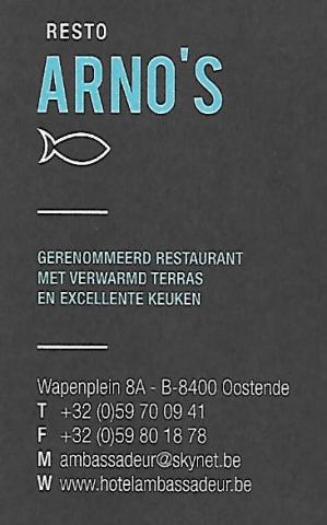 Restaurant Arno's Oostende