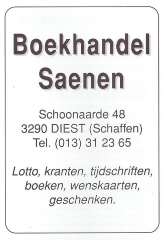 Boekhandel Saenen