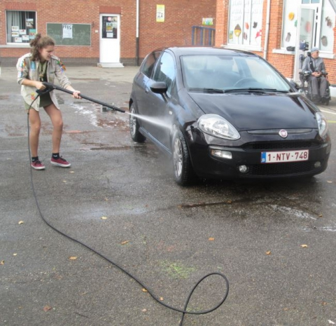 Carwash Scouts Tervant