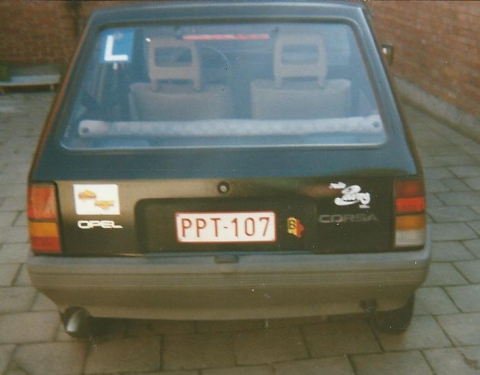 Filip zijn eerste auto