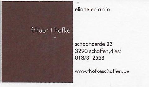Frituur 't Hofke