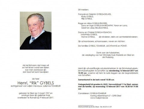 Henri Gybels