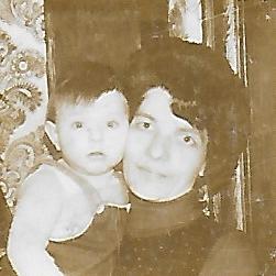 Ik en mijn ma