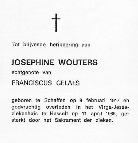 Josephine Wouters