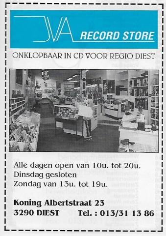 JVA Record Store Diest