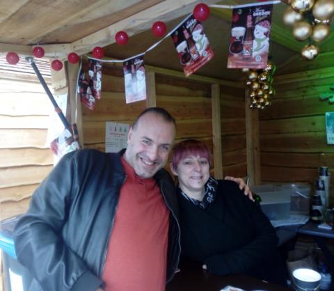 Rudy Gybels en Tanja Marynissen