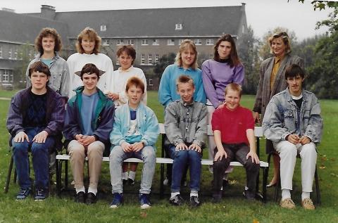 Klasfoto, schooljaar 1988-1989