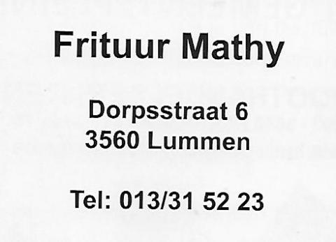 Frituur Mathy
