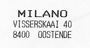 Milano Oostende