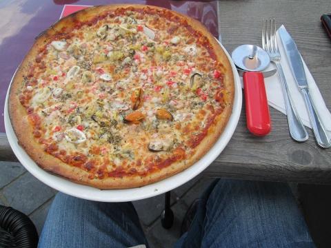 Pizza zeevruchten