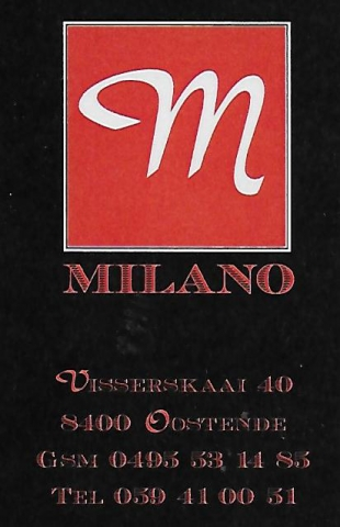 Milano, Oostende