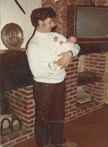 Mijn pa en ik, april 1974