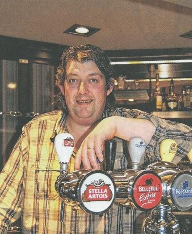 Peter Bollaerts, uitbater van restaurant Pallieter Bekkevoort