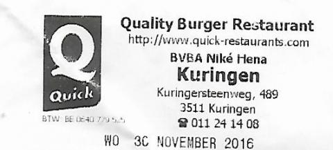 Quick Kuringen