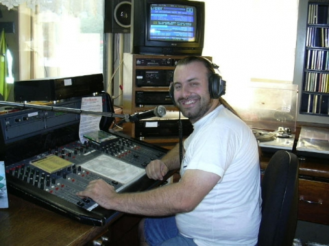 Rudy Gybels, Radio Plaske