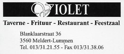Frituur Violet Meldert