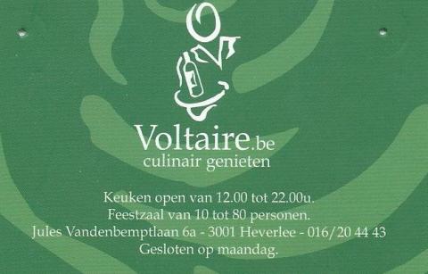 Restaurant Voltaire Heverlee
