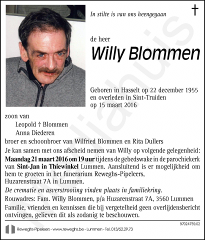 Willy Blommen
