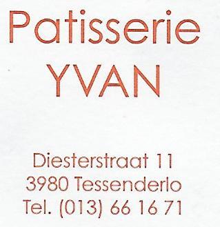 Patisserie Yvan, Tessenderlo