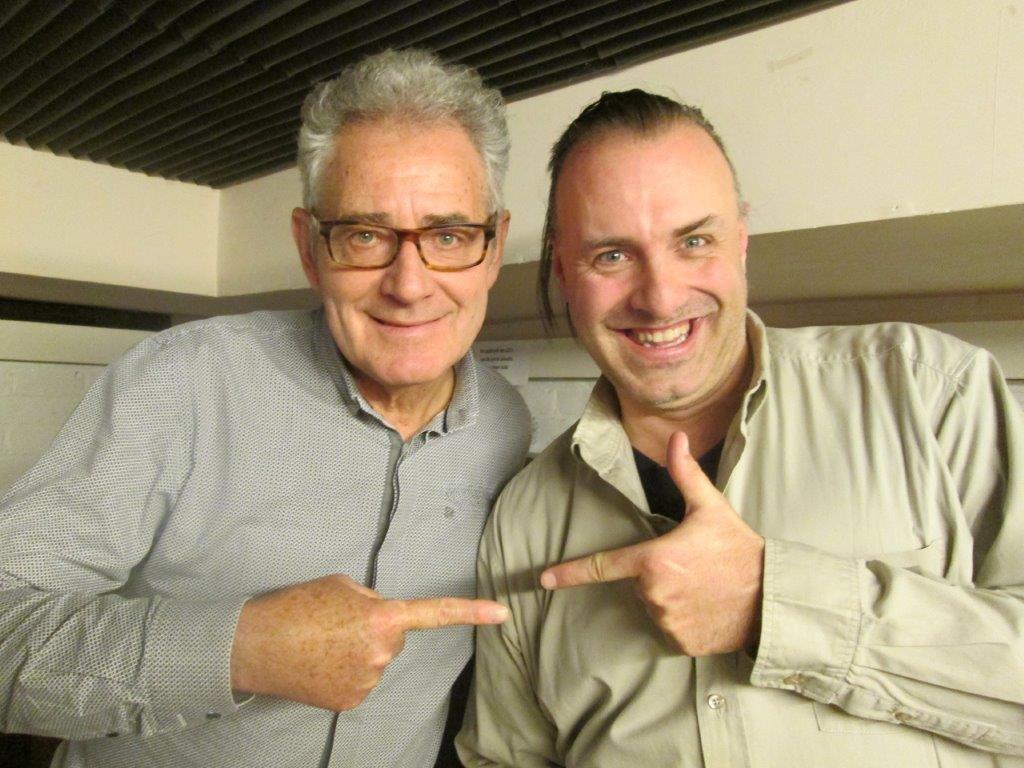 Rudy Gybels en Guy Neve