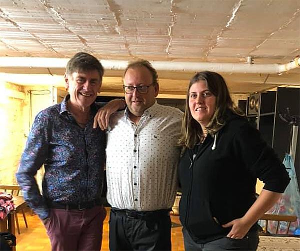 Steve Meert, Freddy Davis en Sanne
