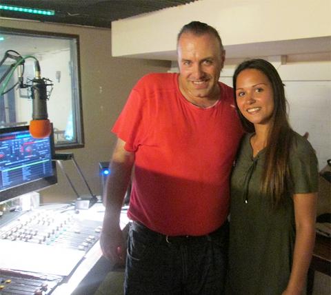 Rudy Gybels en Shana Vanfraeghem