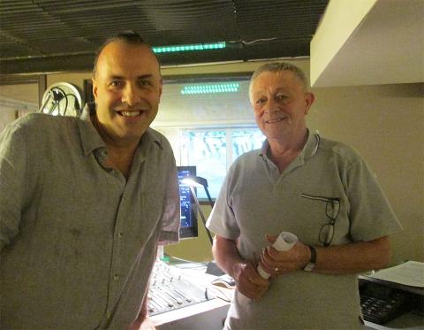 Rudy Gybels en Jef Geboers