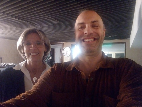 Rudy Gybels en Anita Lenaerts