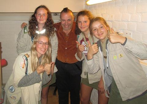 Rudy Gybels en Gidsen van Scouts Tervant