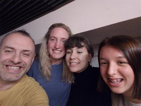 Rudy Gybels, Marie, Inke en Famke