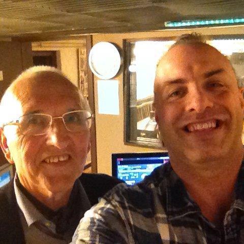 Rudy Gybels en George Dierick