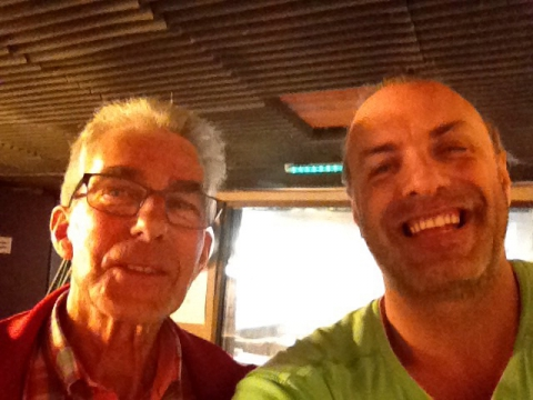 Rudy Gybels en Karel Beyens