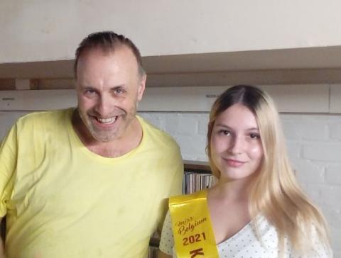 Rudy Gybels en Laura Borghijs