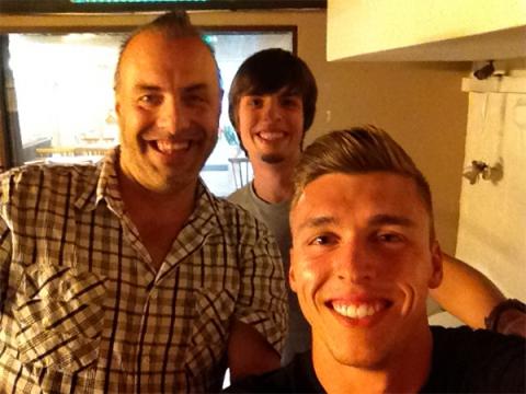 Rudy, Sander & Bram