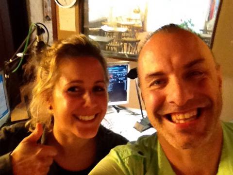 Rudy Gybels en Julie