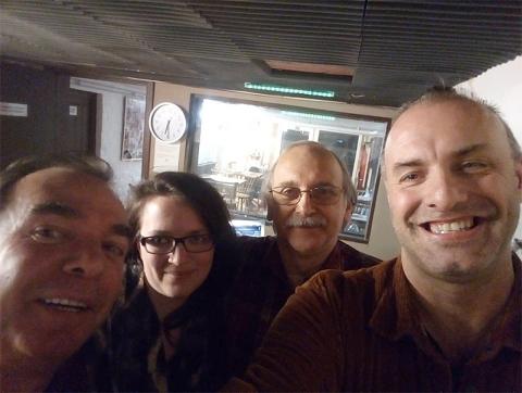 Rudy Gybels, Nathalie, Tony en Johny