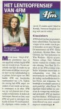 Rani De Coninck verlaat 4 FM, bron: Dag Allemaal, april 2003