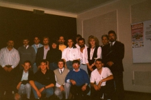 Radio Atlantis team, 1988