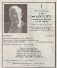 Gust Van Nuffel