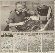 Bron: Het Laatste Nieuws, zaterdag 20 en zondag 21 december 2003