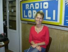 Cynthia Reekmans (kandidate Miss Belgian Beauty 2005) op interview bij Rudy Gybels op zondag 27 juni 2004