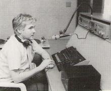 A.J. Beirens in de studio (1988)