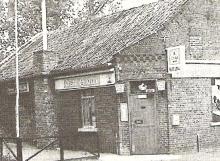 Buitenkant studiocomplex, Goerenstraat 31, Linkhout-Lummen (1994)