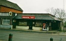 Het studiocomplex van Radio LORALI, Linkhoutstraat 217 in Linkhout, foto uit 2002 Het gebouw werd gesloopt in 2006