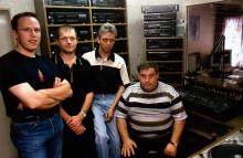 Een gedeelte van het team, zaterdag 1 september 2001