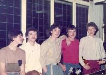 Eric de Ruiter, Eric van Dam, Peter, Kenny de Jong en Patrick Pelgrims (1984)