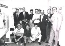 Het Palermo team in 1982